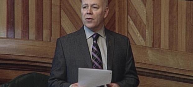 David Coon Speaks in the Legislature