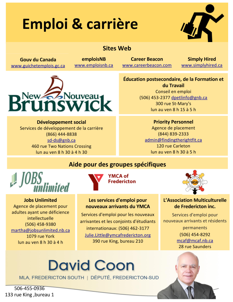 Employment Resources Infographic FR